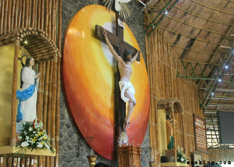 National Shrine of St Padre Pio altar