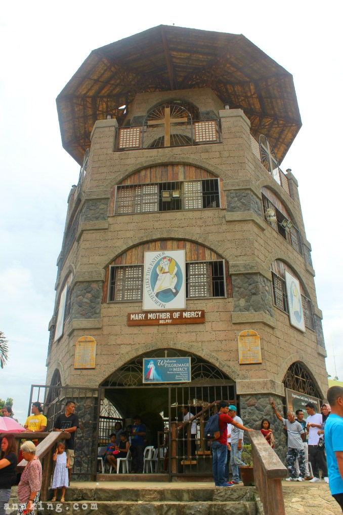 National Shrine of St Padre Pio mother of mercy belfry