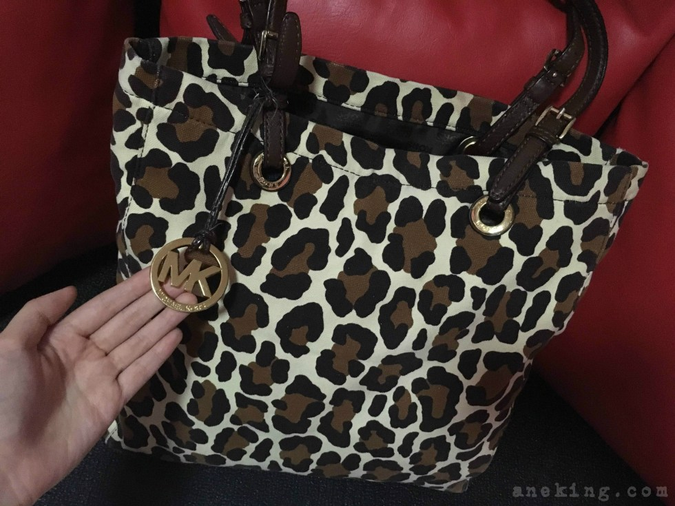 camouflage Michael Kors bag