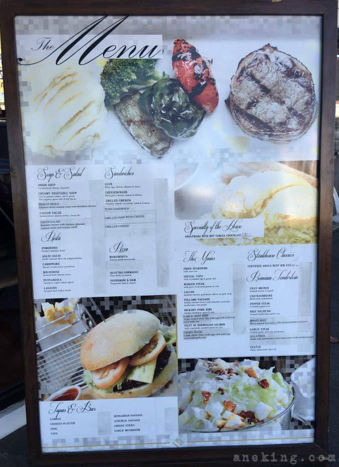 felicias menu