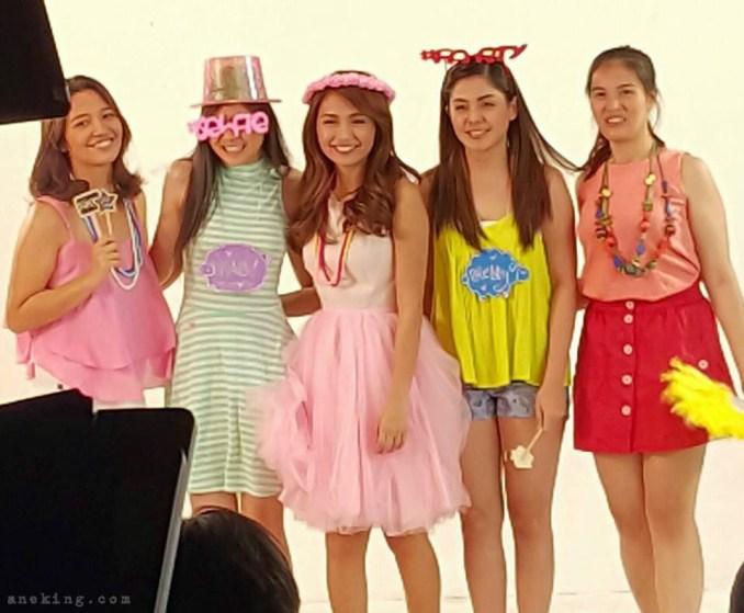 Kathryn Bernardo As The Newest Sunsilk Hairkada TVC BTS