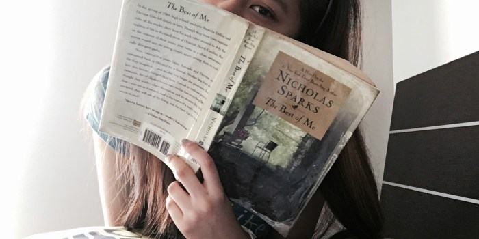 The Best Of Me Book Review