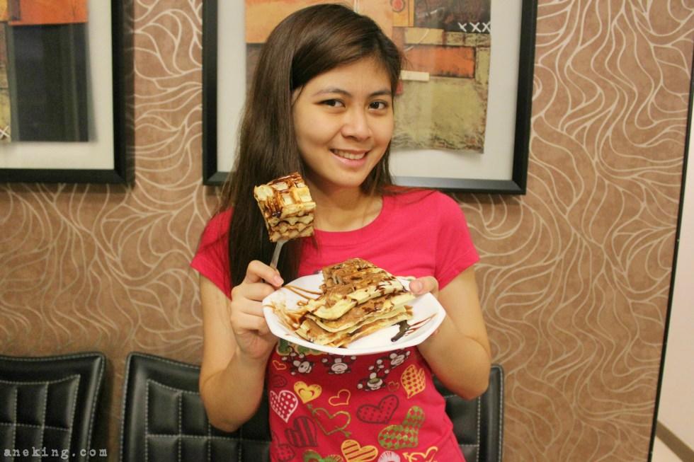 hazelnut waffle step 10