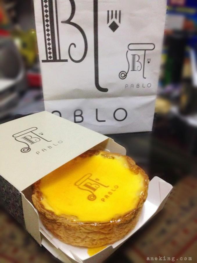 pablo plain mini cheesetart