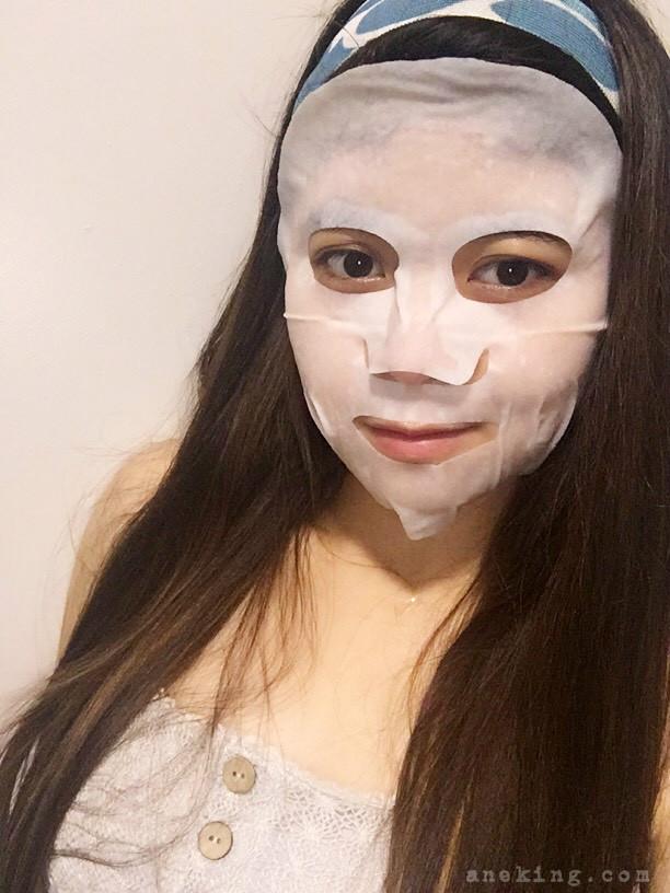 whitening facial mask sheet