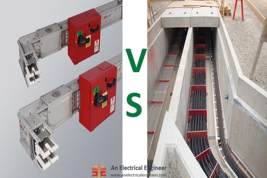 Busbar VS Cables - For Riser Application