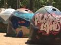 Recycled Art - Granada, Spain