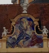 Melk Abbey Courtyard Virtues 2