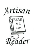 Artisan Reader - book logo