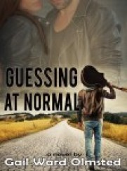 Gail's book cover shows a man walking away from us down a long country road with a guitar resting on his right shoulder.