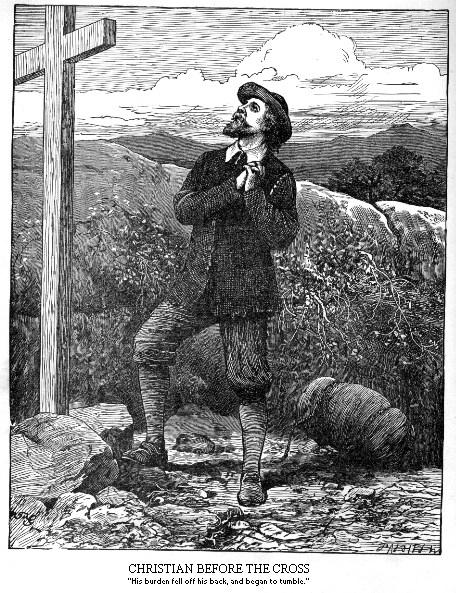 Pilgrim at the Cross