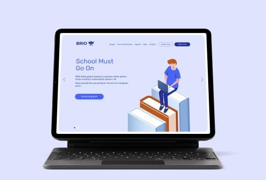 Brio.ro este platforma românească de evaluare educațională, creată pentru a asista elevii, părinții, profesorii și instituțiile de învățământ la îmbunătățirea performanței școlare și a încrederii.