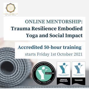 yoga for trauma, trauma-informed yoga, trauma-informed yoga teacher training, yoga for trauma recovery, yoga for trauma, embodied resilience