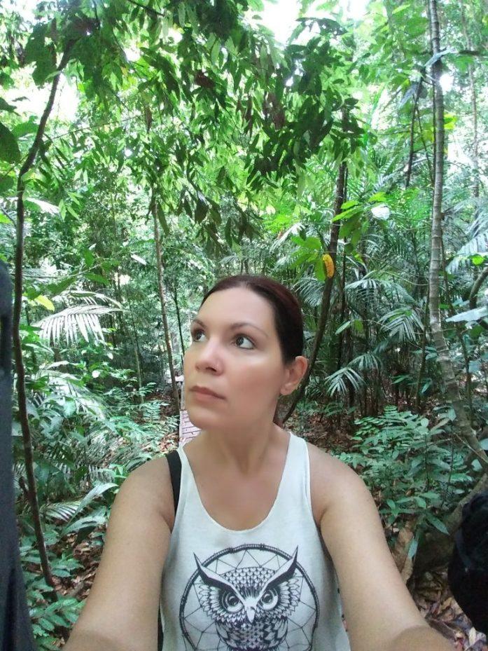 Exploring a jungle in Taman Negara, Malaysia.