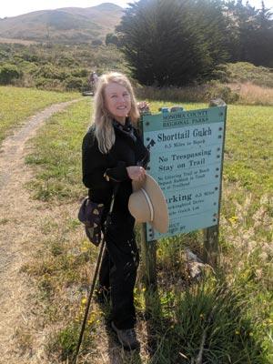 ShortTail Gulch Trailhead Bodega CA