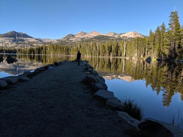 Wright's Lake Silhouette