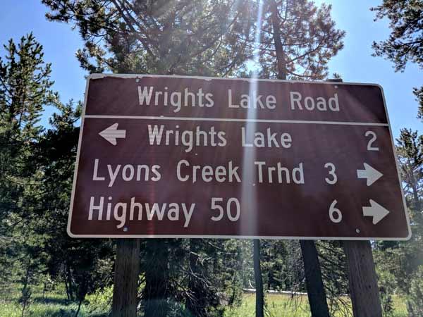 Wrights Lake Road