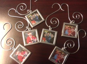 Completed Photo Ornaments