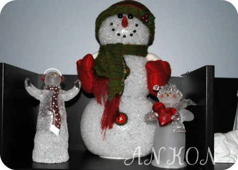 Snowman collection through the years