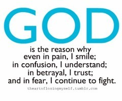God keeps me pressing on