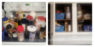 Kitchen Cabinet Before & After
