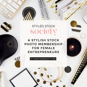 A Stylish Stock Photo Membership for Female Entrepreneurs