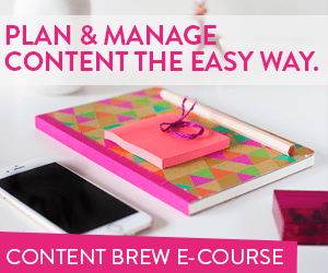 Plan & Manage Content The Easy Way