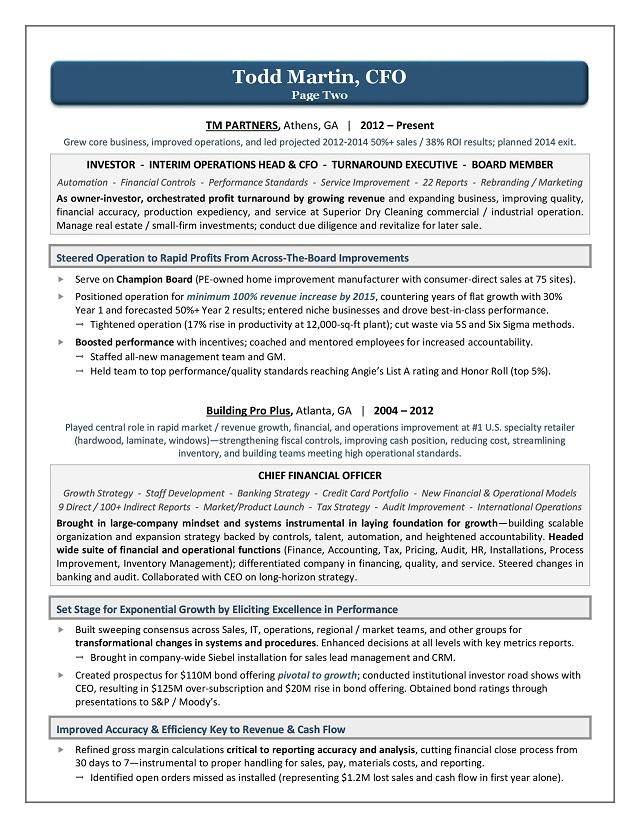 Sample resume buyer position