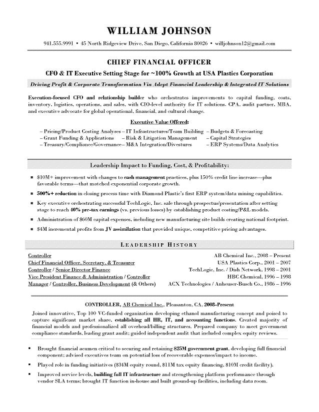 what makes an expert resume the best choice for your executive