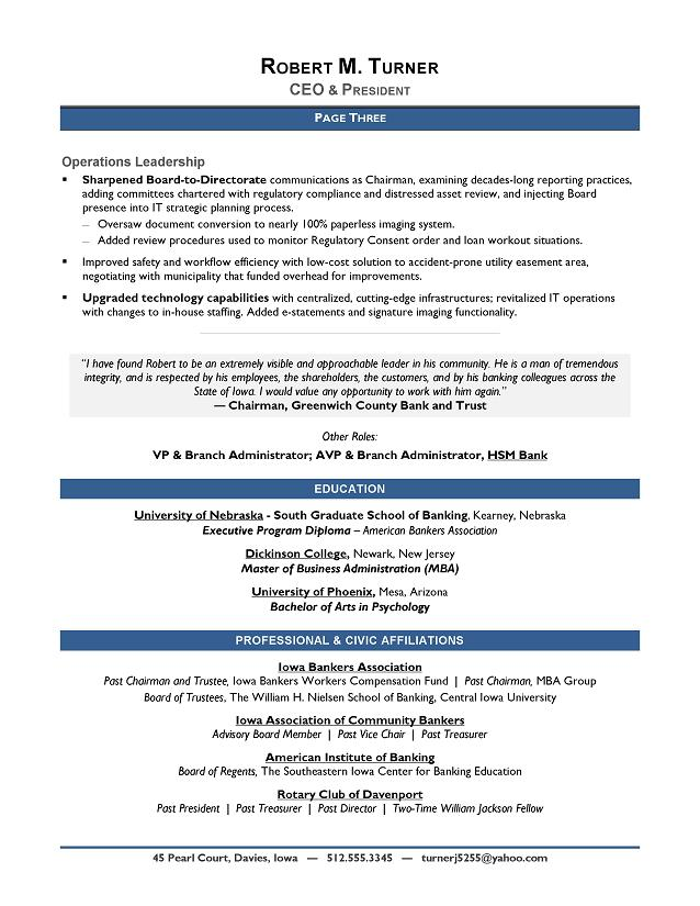 Resume Objective For Banking - Best Sample Resume