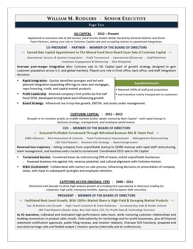 2016 resume trends award winning executive resume by resume writer