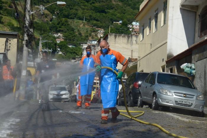 Limpeza Urbana higieniza favelas e periferias em todo o Rio de ...