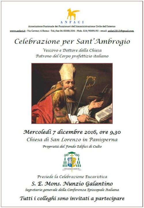 Sant'Ambrogio 2016