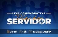ANFIP prepara live comemorativa para o dia do Servidor
