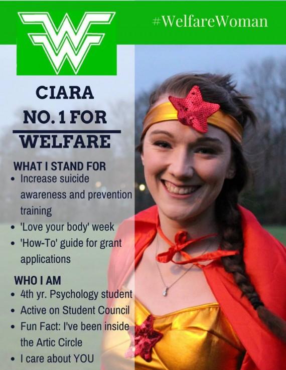 Ciara Corcoran Campaign Poster
