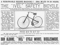 Safety bicycle