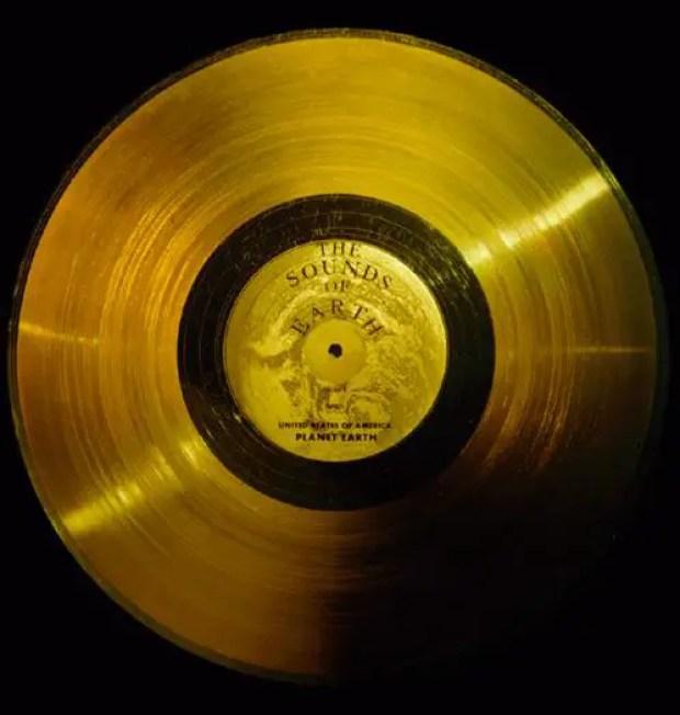 Fotografía del disco Sinfonía de los Planetas.