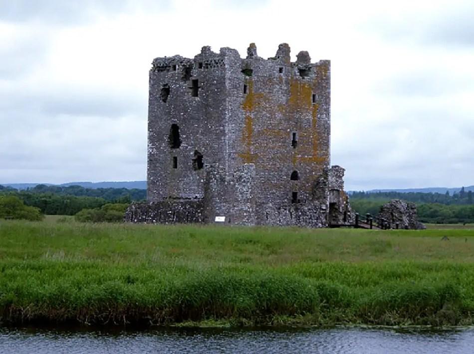 Fotografía del castillo Threave.