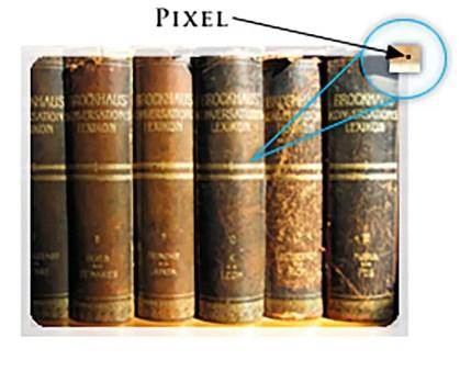Imagen de un pixel.
