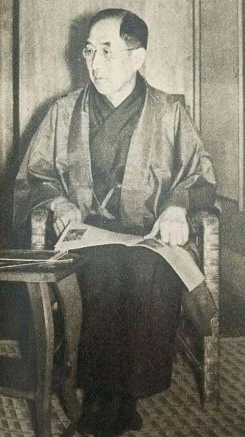 Fotografía de Tokugawa Iemasa.