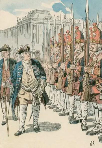 Ilustración antigua del rey Wilhelm I