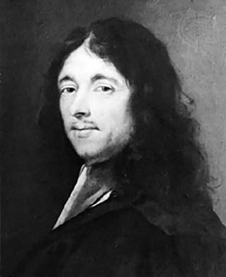 Pintura del matemático Fermat. El enigma de Fermat.