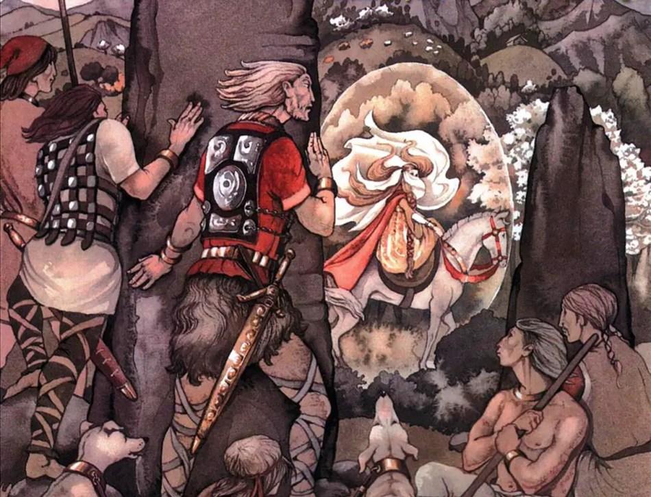 Ilustración del Mabinogión.