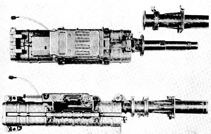 Fotografía de un Mauser MG 213C.