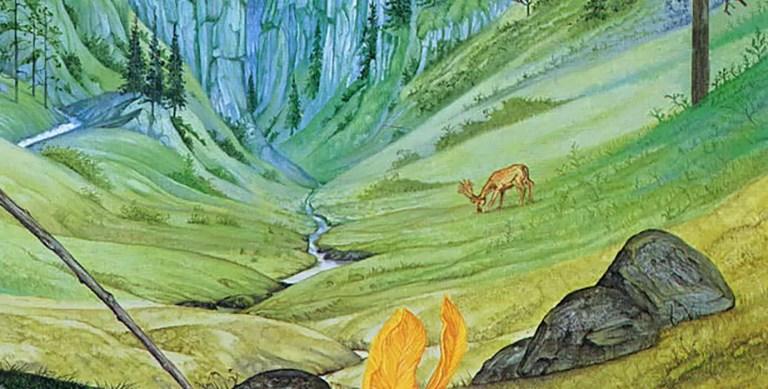 Der Berggeist, la pintura que inspiró a Tolkien para crear a Gandalf