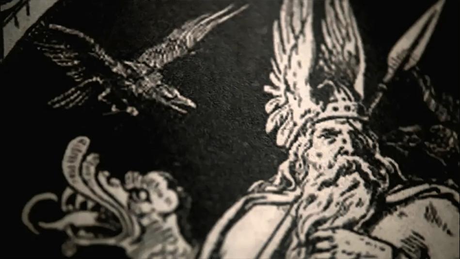 Ilustración de Odin.