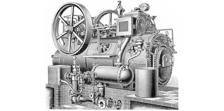 El motor a vapor más pequeño del mundo, el motor nanotecnológico