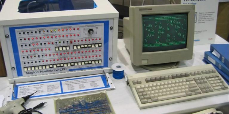Los ordenadores caseros. Computadores construidos desde cero