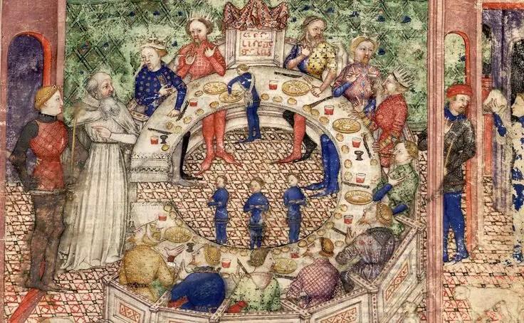 Banquete medieval.