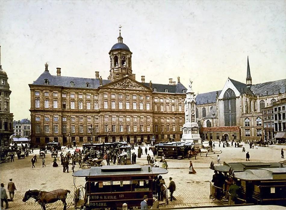 Palacio de Amsterdam, finales del siglo XIX